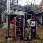 Ruins of Gas Station