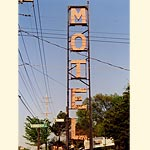Motel Sign in Villa Ridge Missouri