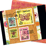 Spring Faux Postage #2